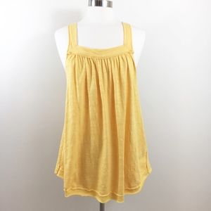 Free People | Good for You Tank Yellow Top - L -